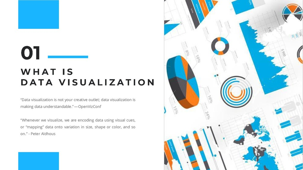 """""""Data visualization is not your creative outlet..."""