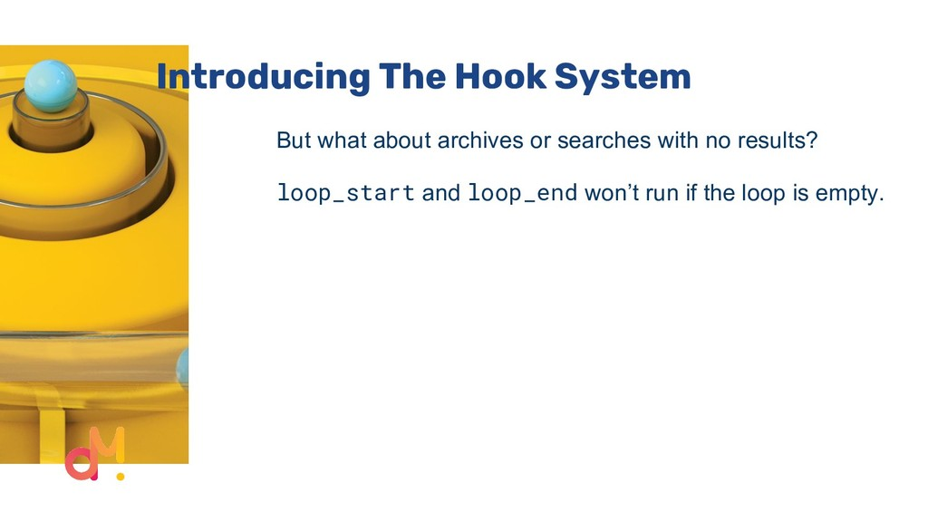 Introducing The Hook System But what about arch...