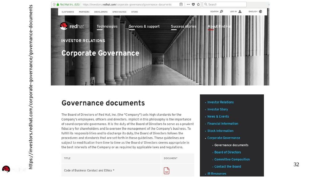 32 https://investors.redhat.com/corporate-gover...