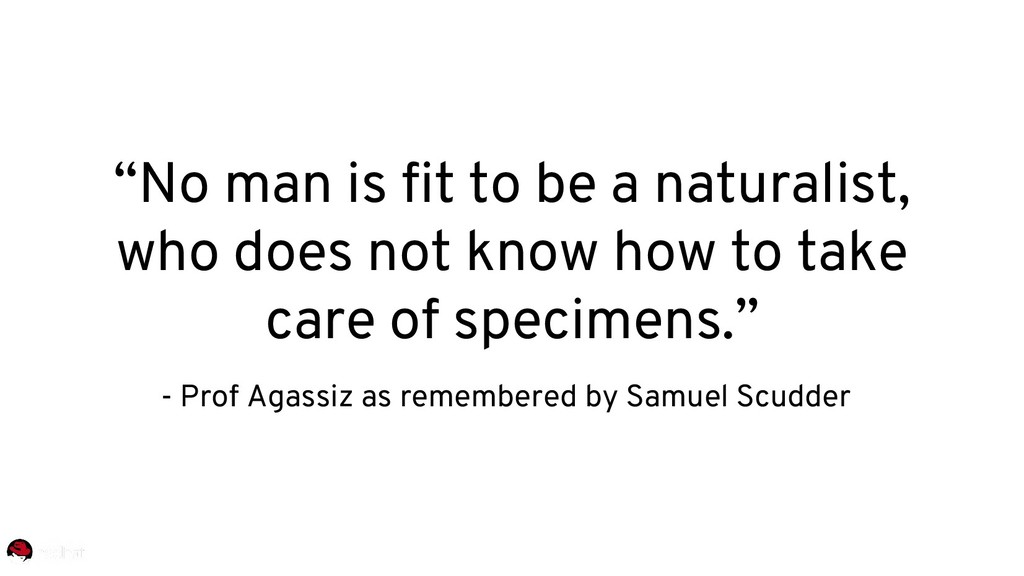 """""""No man is fit to be a naturalist, who does not..."""