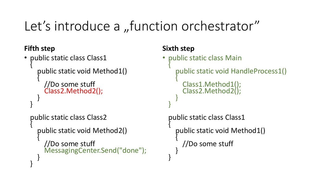 """Let's introduce a """"function orchestrator"""" Fifth..."""