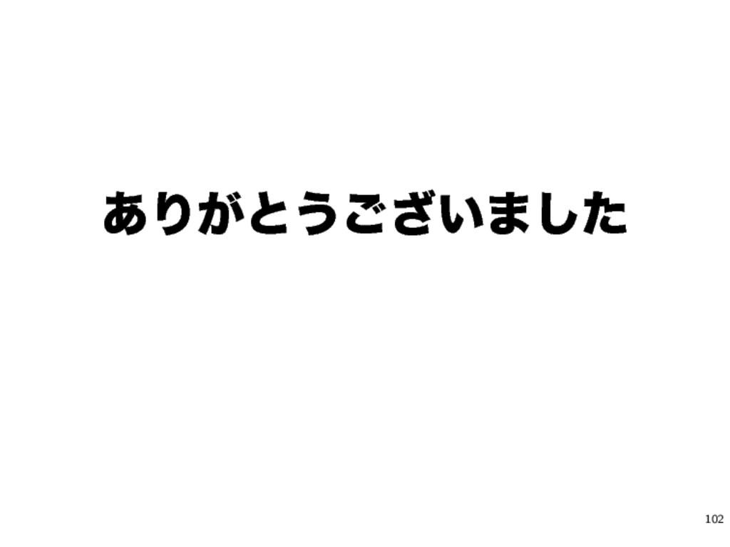 ͋Γ͕ͱ͏͍͟͝·ͨ͠ 102