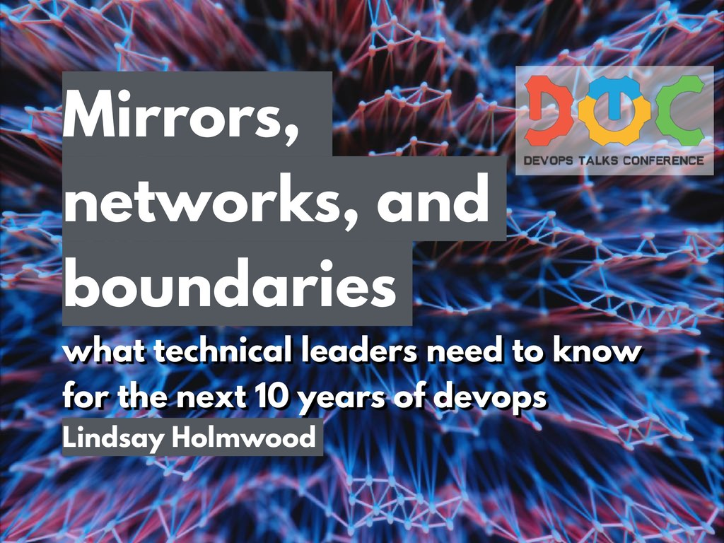 Mirrors, networks, and boundaries what technica...
