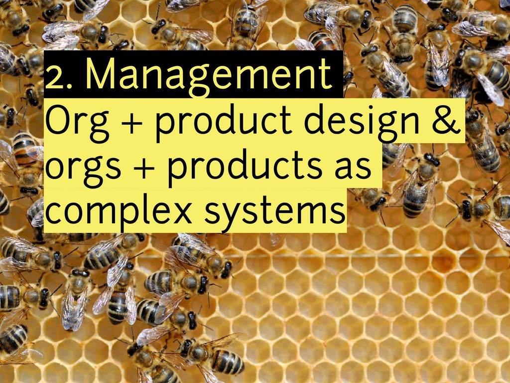 2. Management Org + product design & orgs + pro...