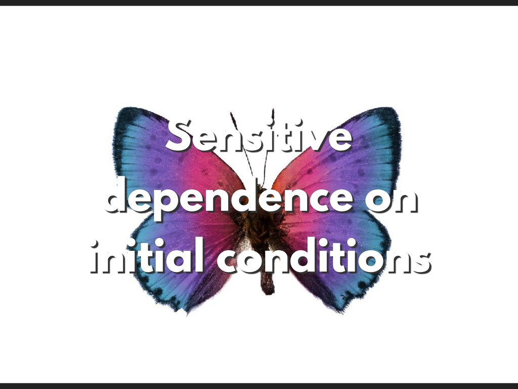 Sensitive dependence on initial conditions