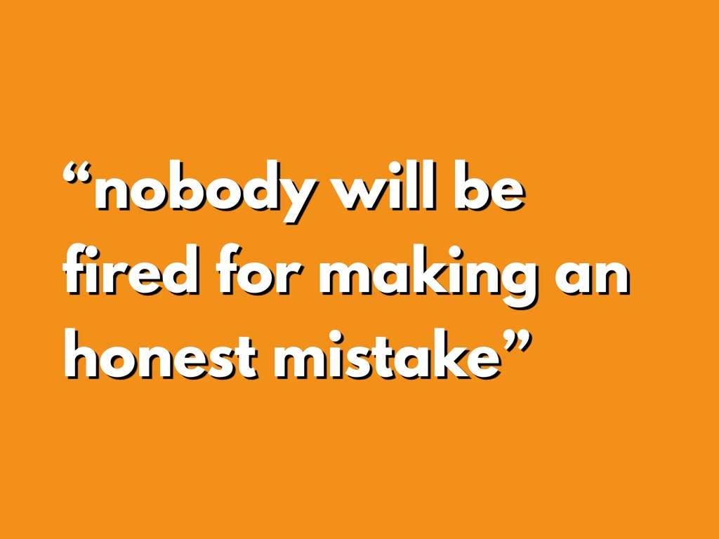 """nobody will be fired for making an honest mist..."
