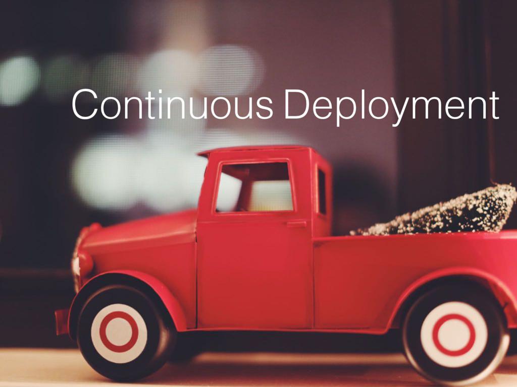 Deployment Continuous