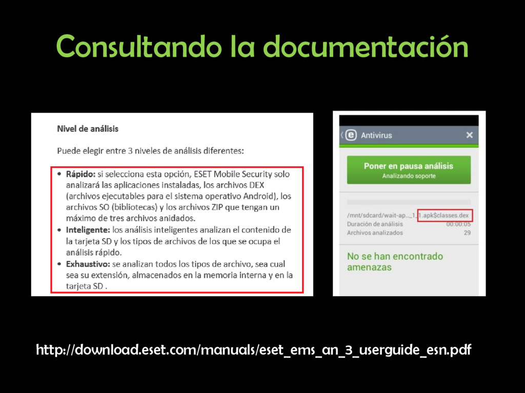 Consultando la documentación http://download.es...
