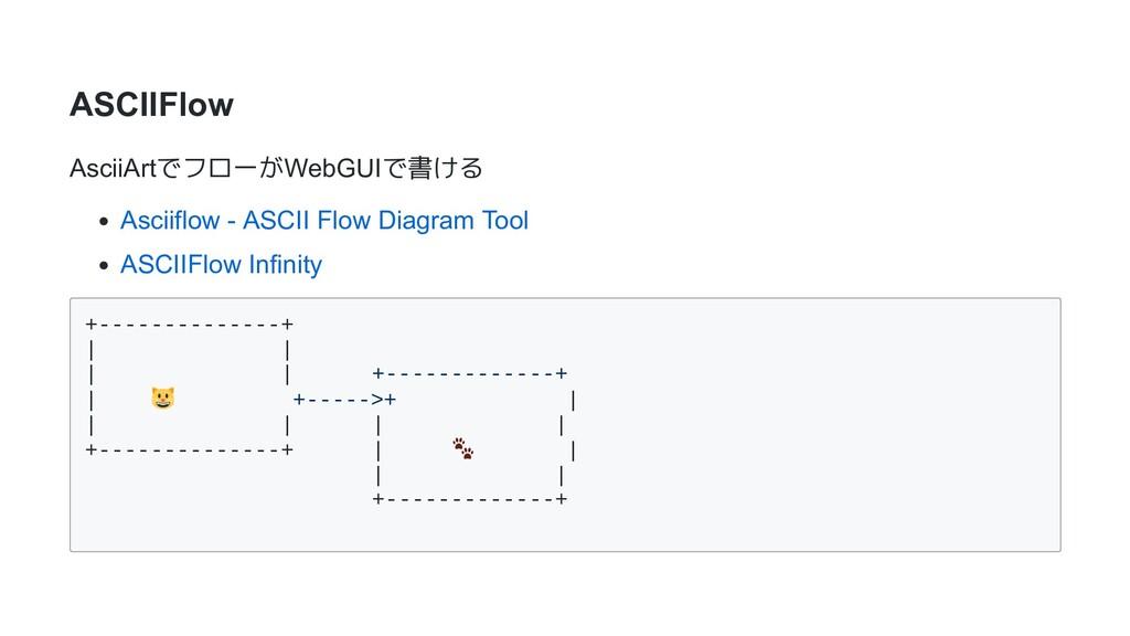 ASCIIFlow AsciiArtでフローがWebGUIで書ける Asciiflow - A...