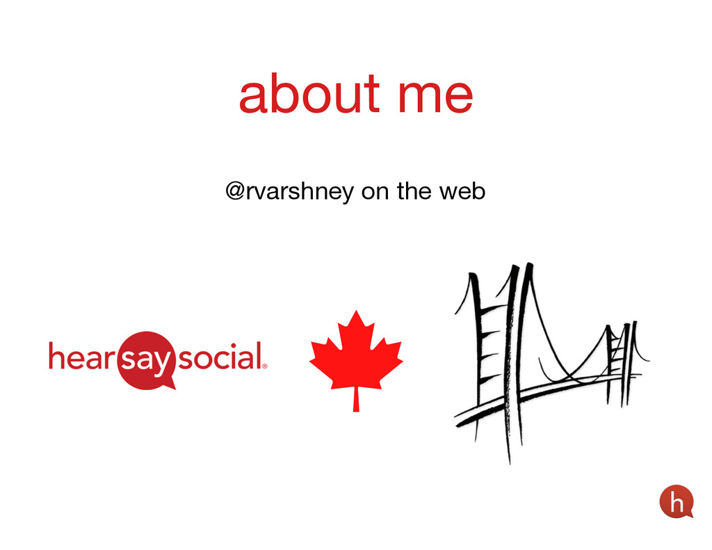 about me @rvarshney on the web
