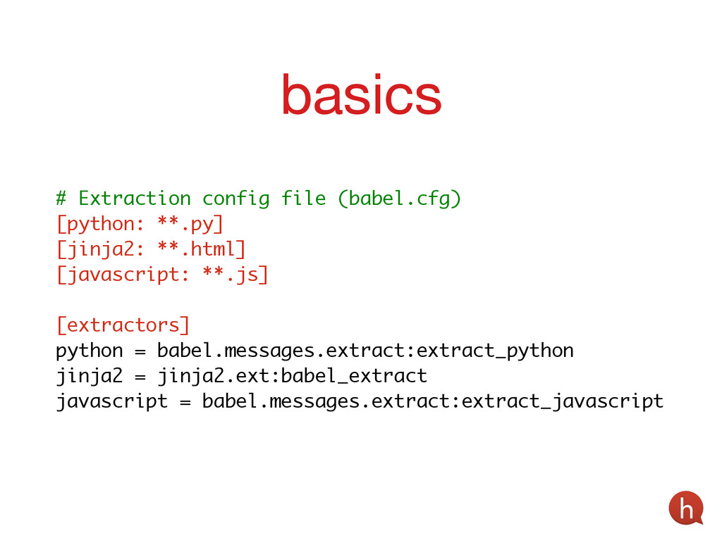 ! # Extraction config file (babel.cfg) [python:...