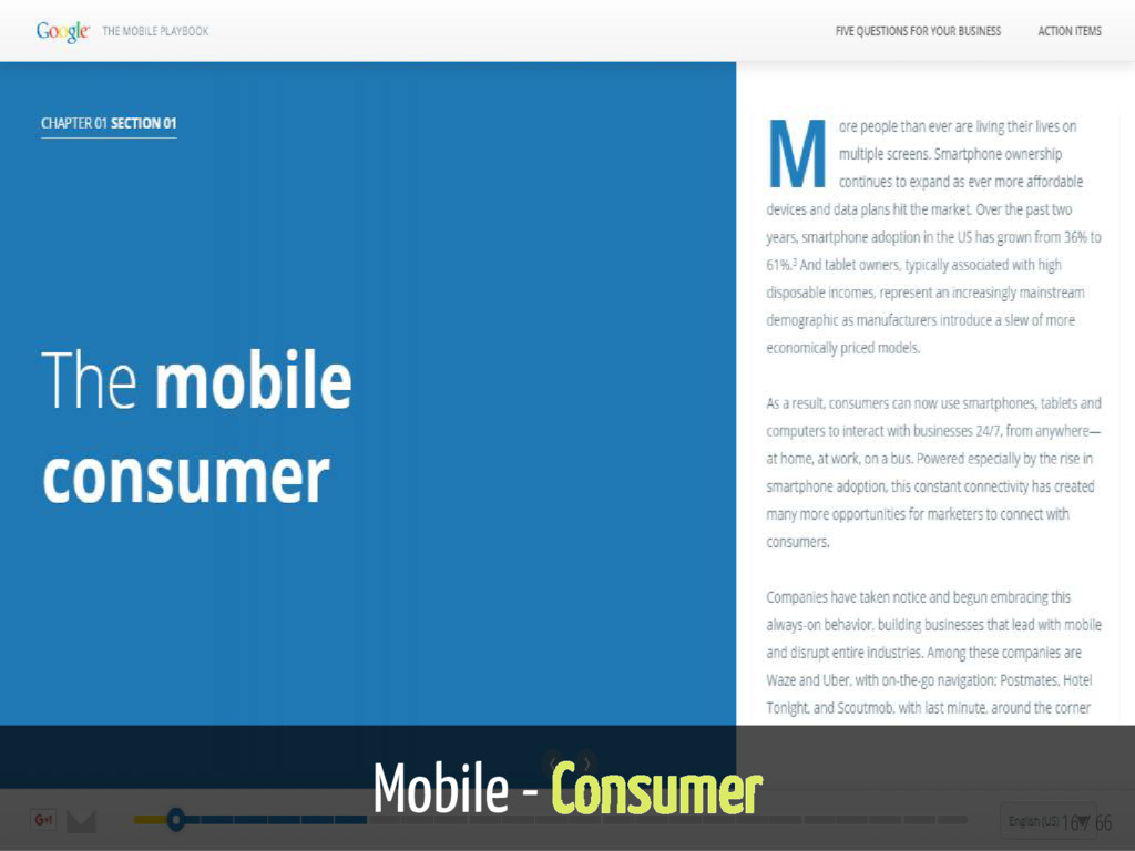 Mobile - Consumer 16 / 66