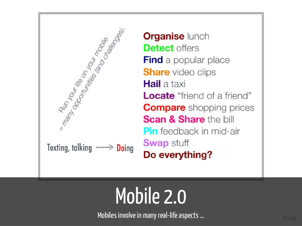 Mobile 2.0 Mobiles involve in many real-life as...