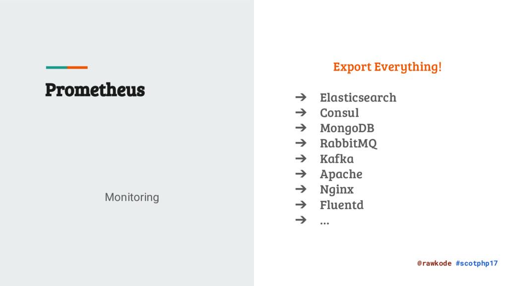 @rawkode #scotphp17 Prometheus Monitoring Expor...