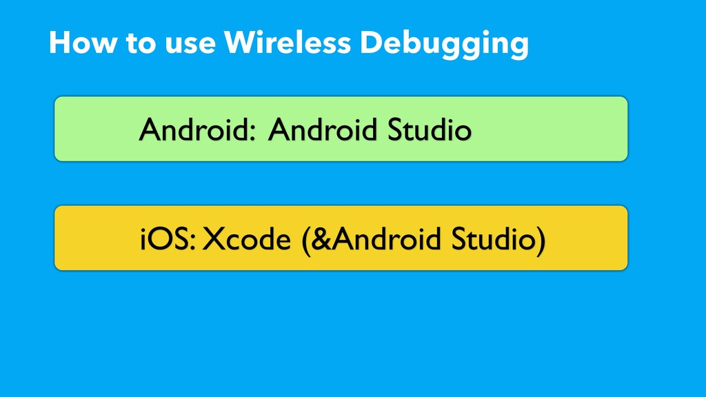 How to use Wireless Debugging Android: Android ...