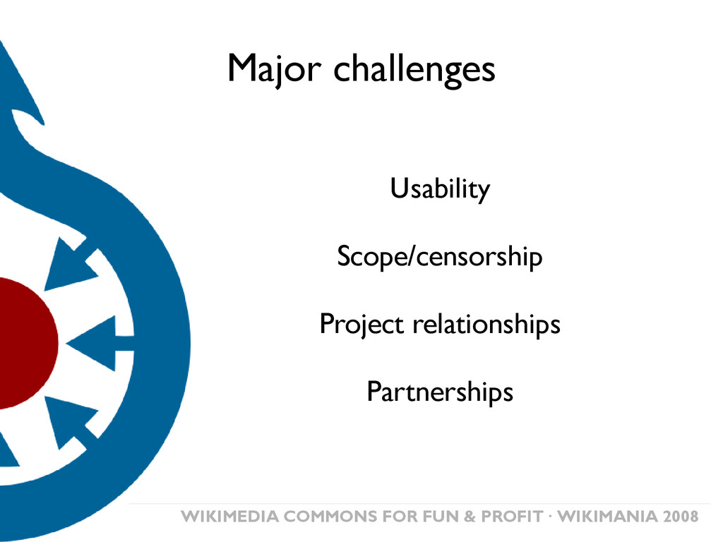 WIKIMEDIA COMMONS FOR FUN & PROFIT· WIKIMANIA 2...