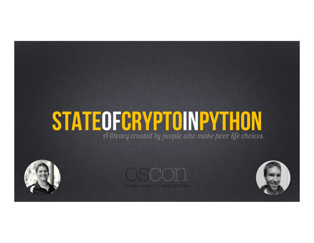 StateofcryptoinPython A library created by peop...