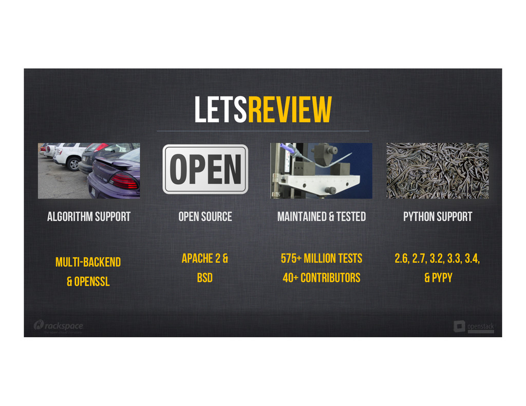 LetsReview Algorithm support Open Source MAINTA...