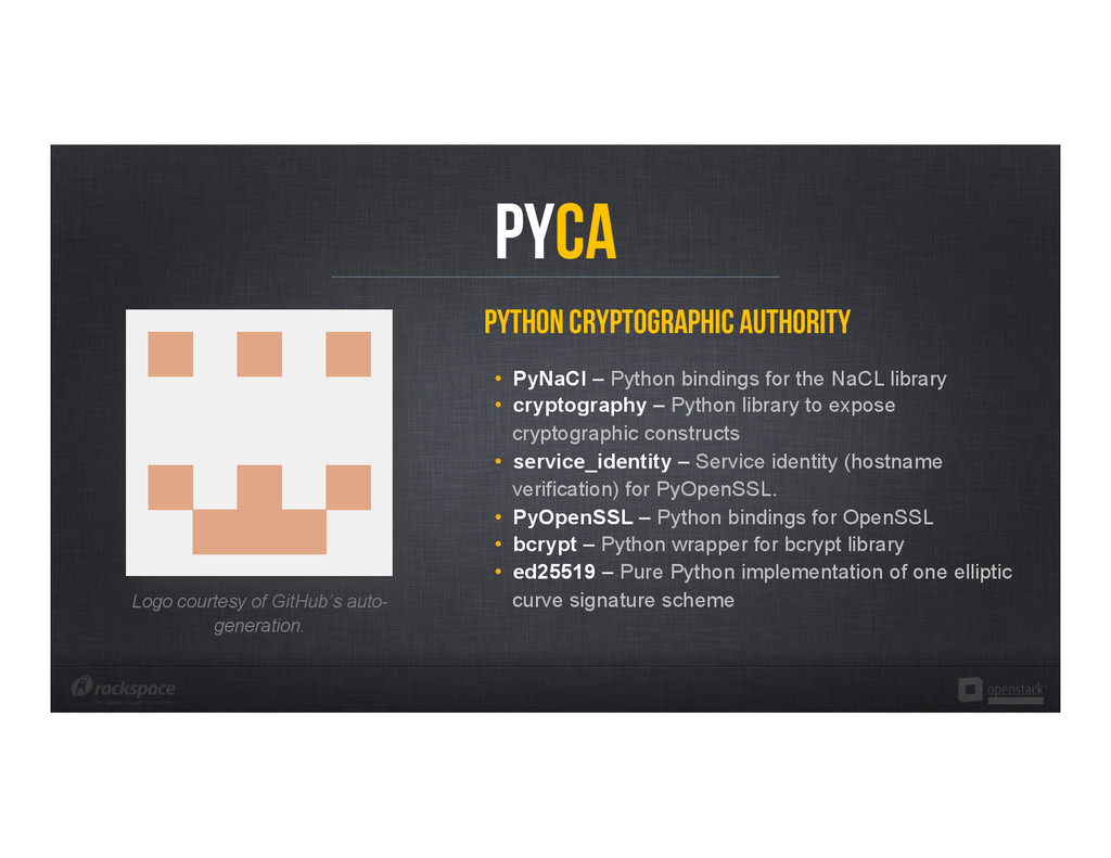 Python Cryptographic Authority • PyNaCl – Pyth...