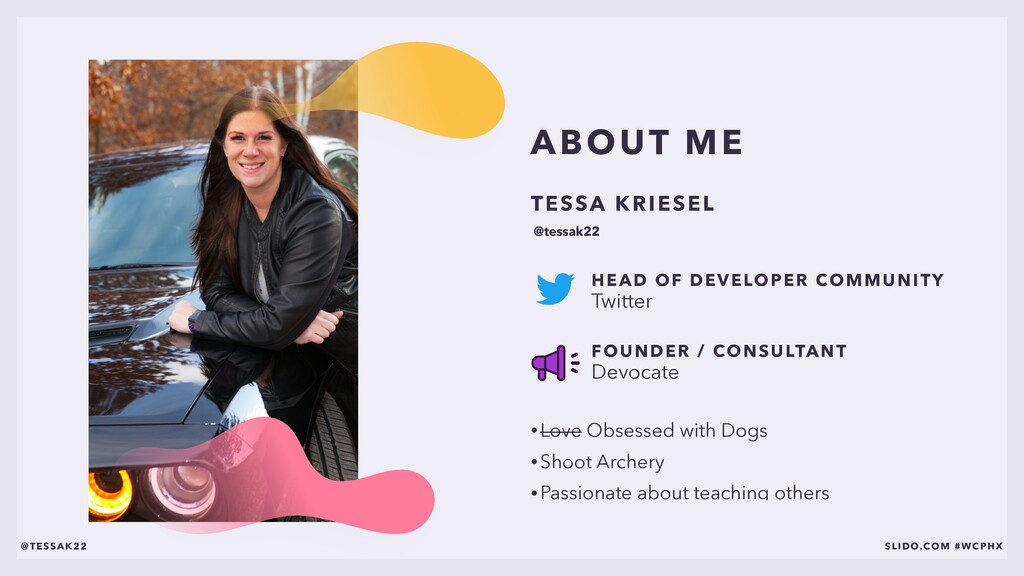 ABOUT ME • Love Obsessed with Dogs • Shoot Arch...