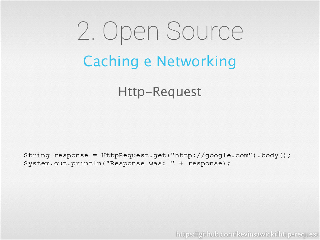2. Open Source Caching e Networking Http-Reques...