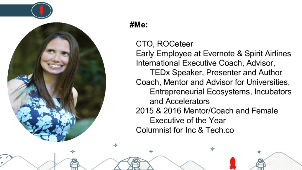 #Me: CTO, ROCeteer Early Employee at Evernote &...