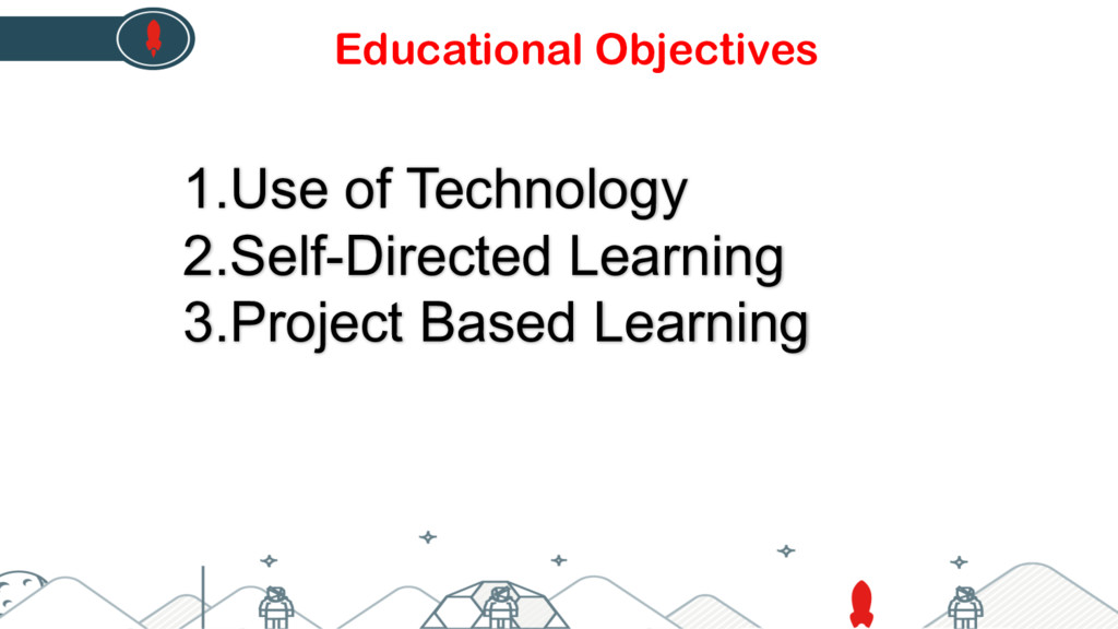 1.Use of Technology 2.Self-Directed Learning 3....