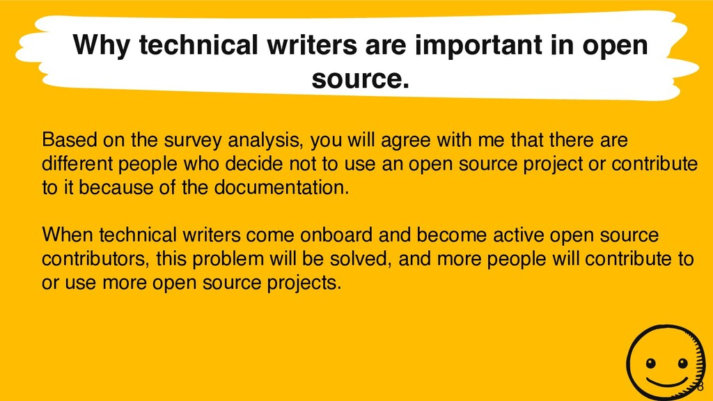 Why technical writers are important in open sou...