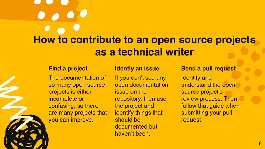 How to contribute to an open source projects as...