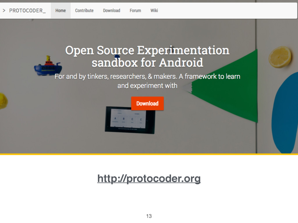 13 http://protocoder.org