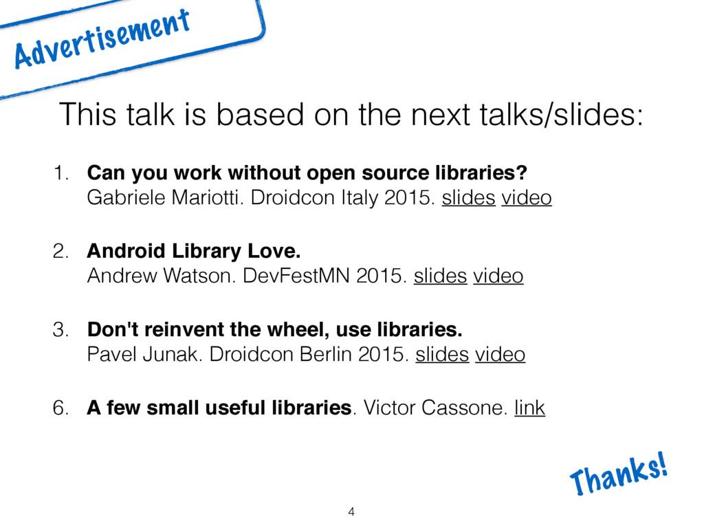 This talk is based on the next talks/slides: 1....