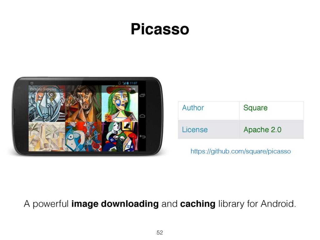 52 Picasso Author Square License Apache 2.0 A p...