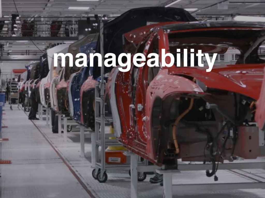manageability