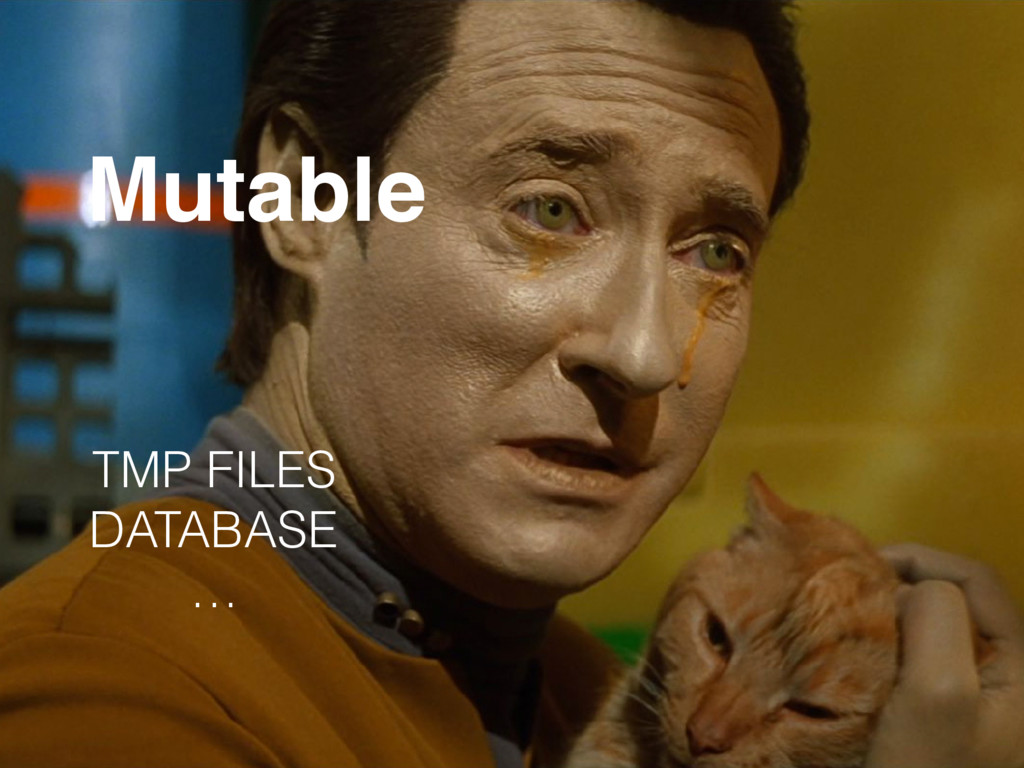 Mutable TMP FILES DATABASE …