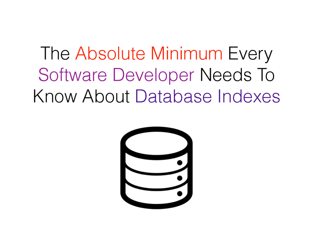 The Absolute Minimum Every Software Developer N...