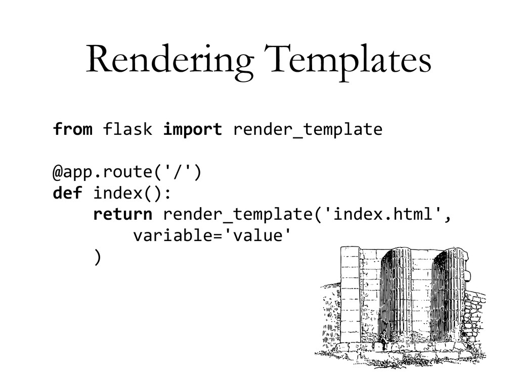 Rendering Templates from	