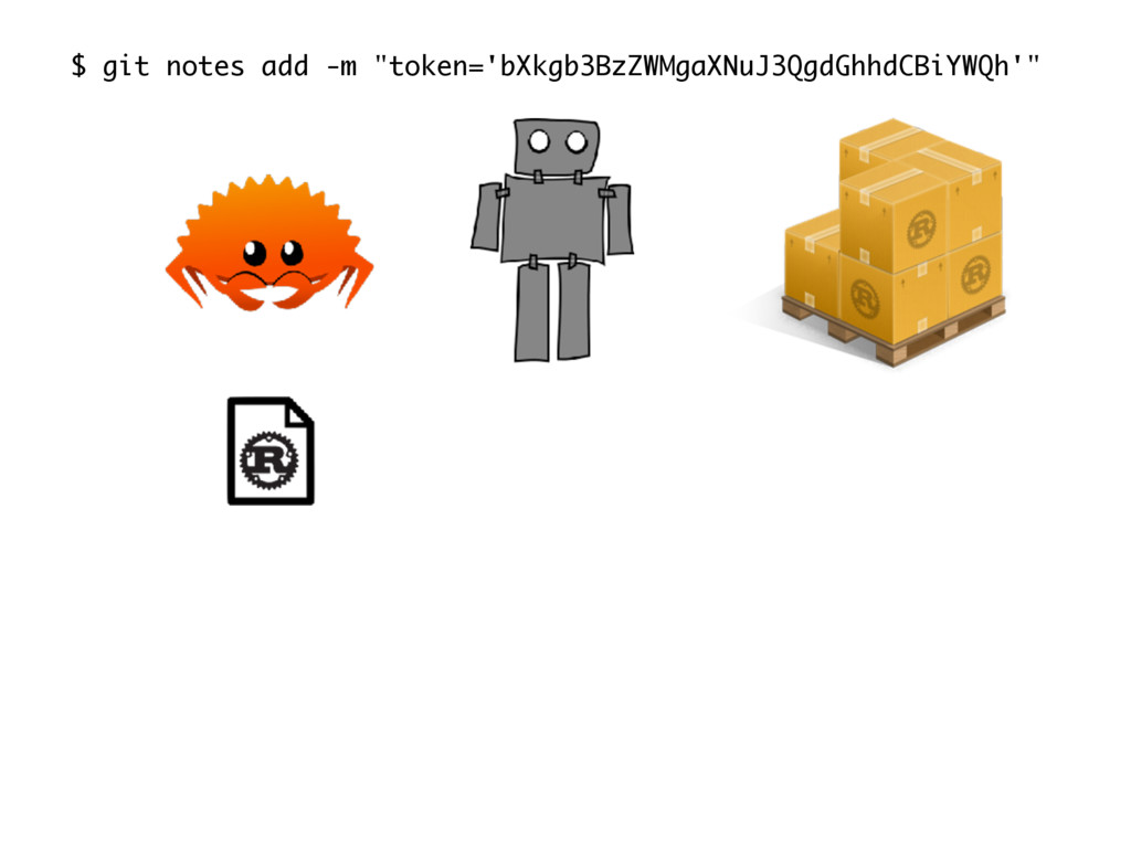 "$ git notes add -m ""token='bXkgb3BzZWMgaXNuJ3Qg..."