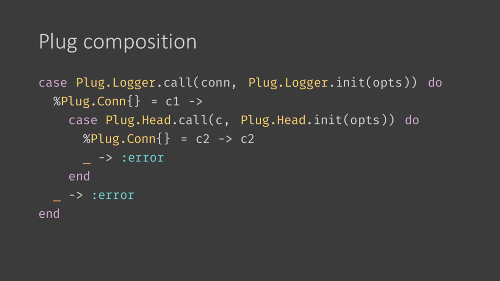 Plug composition case Plug.Logger.call(conn, Pl...