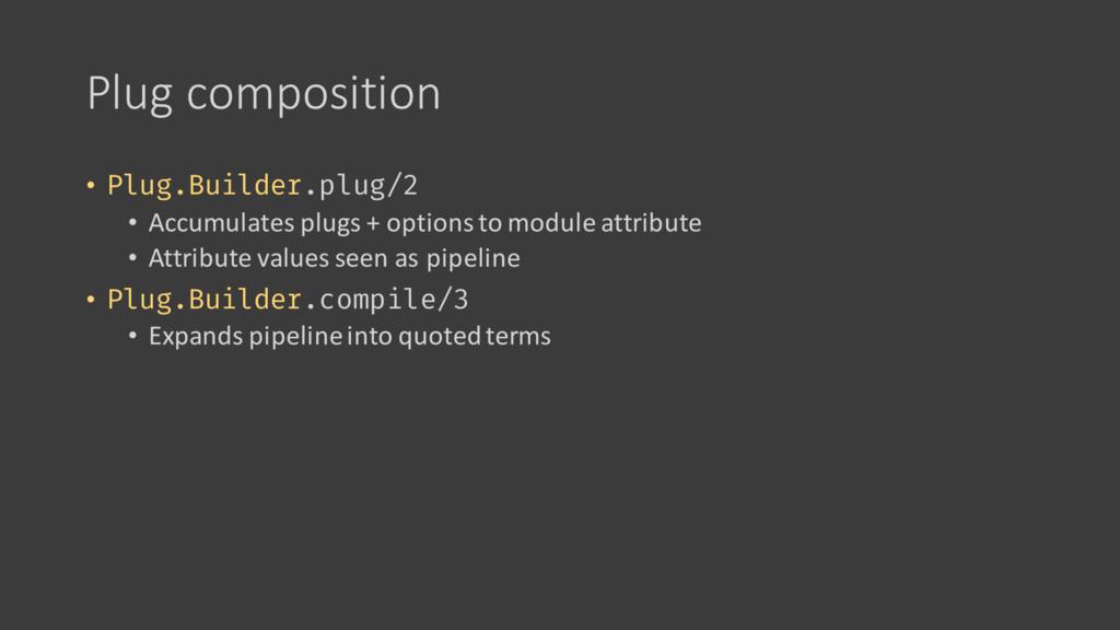 Plug composition • Plug.Builder.plug/2 • Accumu...
