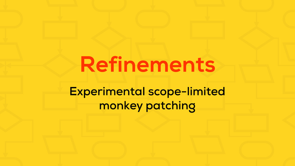 Refinements Experimental scope-limited monkey p...