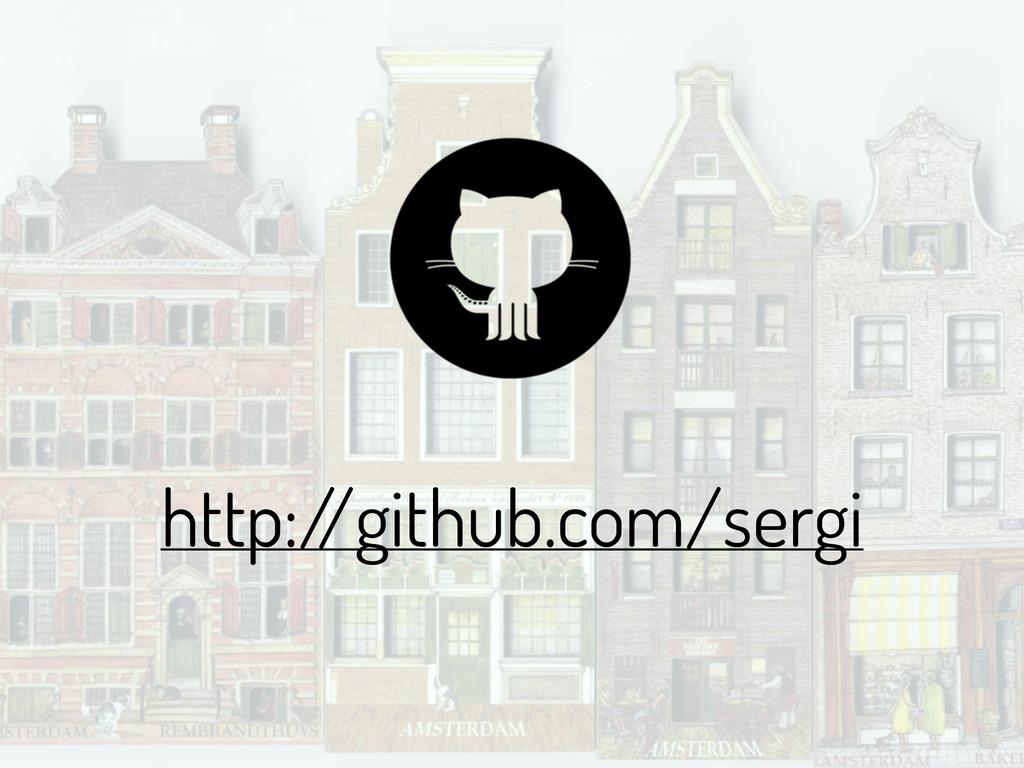 http:/ /github.com/sergi