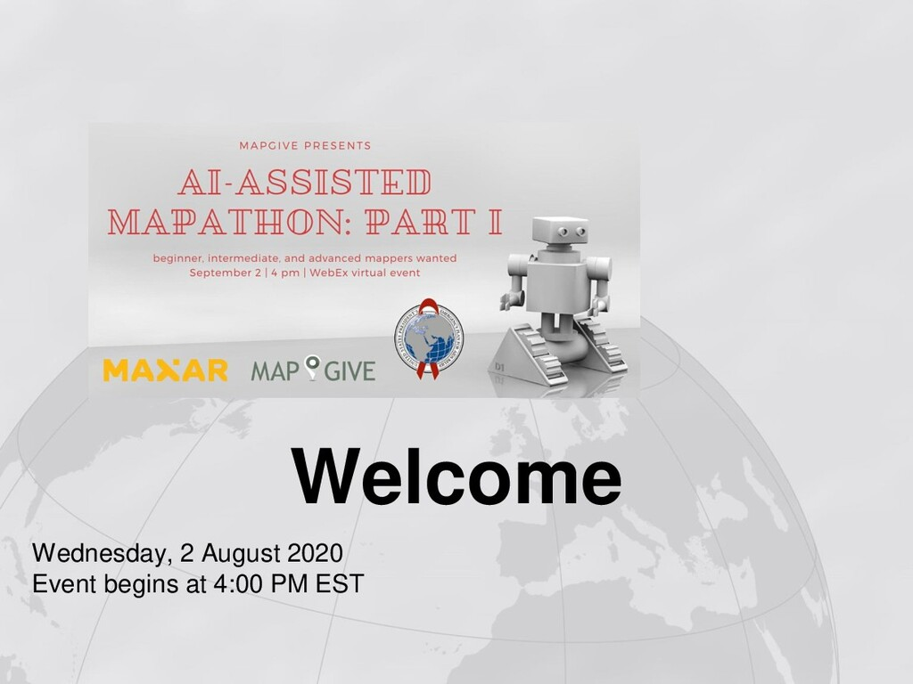 Welcome Wednesday, 2 August 2020 Event begins a...