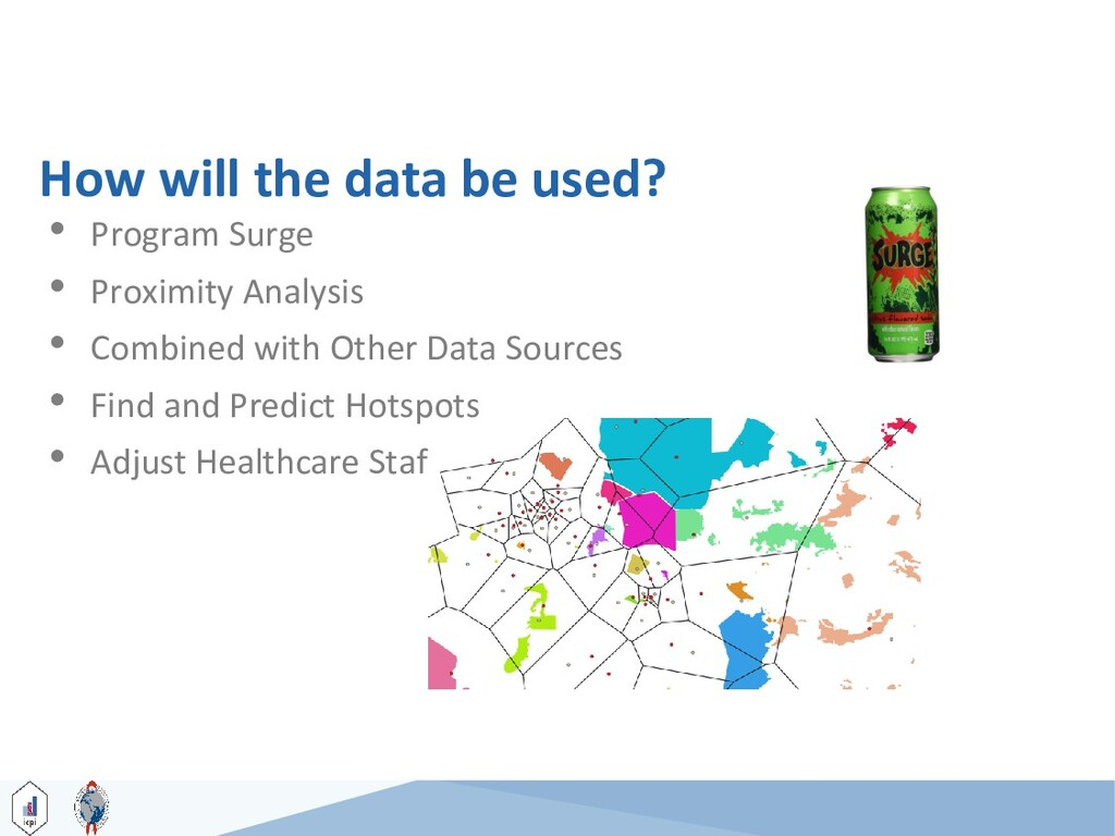 How will the data be used? 35 • Program Surge •...