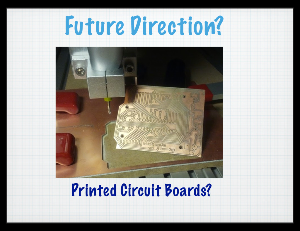 Future Direction? Printed Circuit Boards?