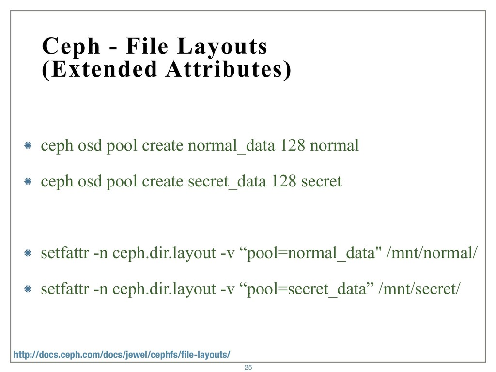 Ceph - File Layouts (Extended Attributes) ceph ...