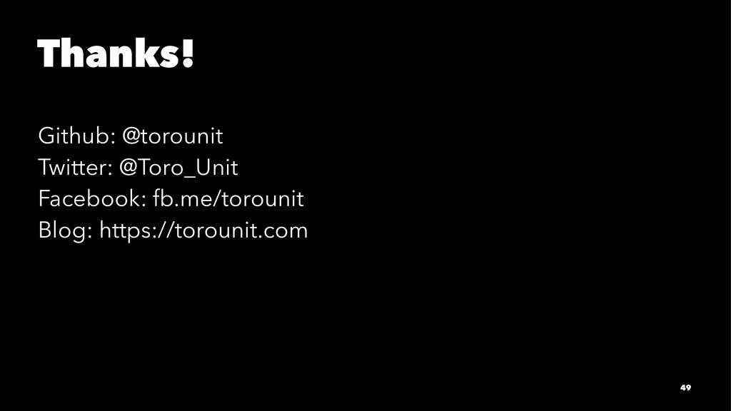 Thanks! Github: @torounit Twitter: @Toro_Unit F...