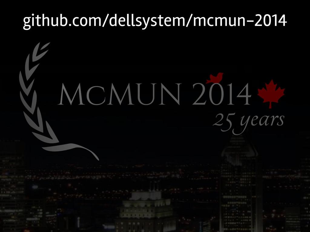 github.com/dellsystem/mcmun-2014