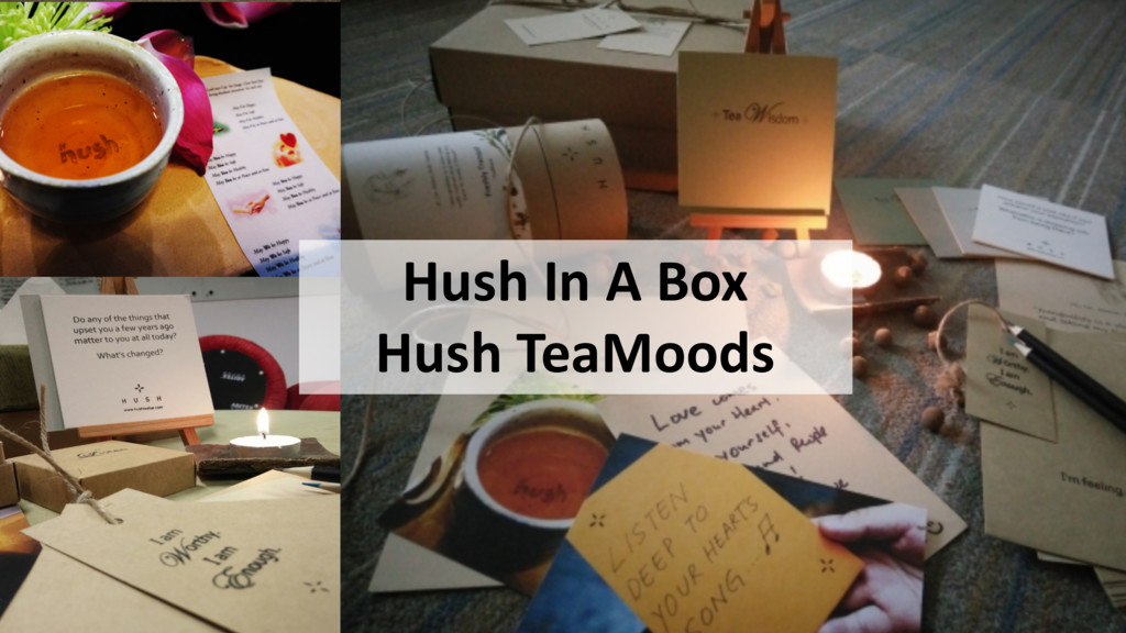 Hush In A Box Hush TeaMoods