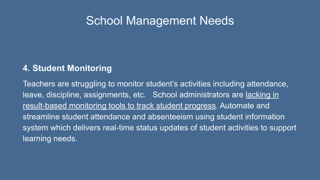 4. Student Monitoring Teachers are struggling t...