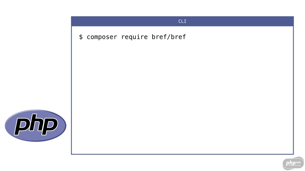 $ composer require bref/bref CLI